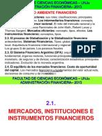 2.1.-2.4 FCE-ADM.fin.-Mercados e Instrumentos Financieros - VAN