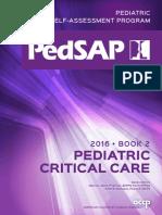 Pedsap 2 Critical Care