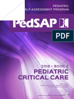 Pedsap 2 Critical Care