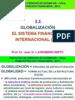 2.2. FCE ADM.fin. Globalización Sistema Financiero Internacional