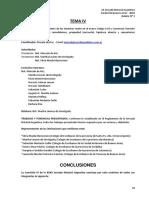 XXXII JNA Conclusiones Del Tema IV