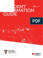 RMIT Assessment Criteria & Marks