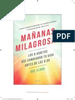 Muestra Del Diario de Mañanas Milagrosas