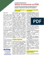 Dossier N°2 - Octobre 2004  Comment maîtriser la trésorerie en PME