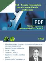 TRIZ - Teorija Rezhenija Izobretatelskikh Zadatch