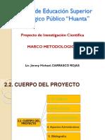 Marco Metodologico Del Proyecto de Investigacion