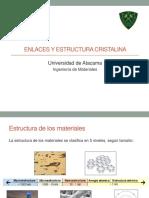 2. Enlaces y Estructura Cristalina