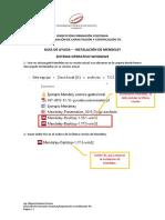Manual de Instalacion Mendeley Windows