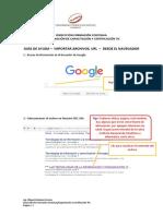 Manual de Importar Archivos- Web