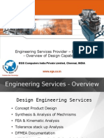 Engineering Services EGS India Capabilities in Design Services