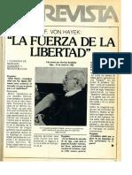 Hayek Realidad 1981
