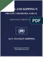 Perkin and Kipping's Organic Chemistry, Part II