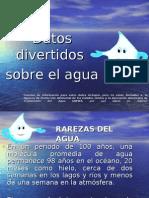 Datos divertidos sobre el agua