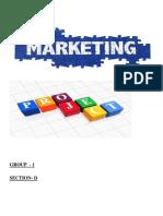 Marketing Project New