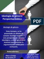 Conferencia Varones IBE Callao Ideologia de Genero