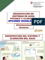 03 Cloración y Desinfección 2015