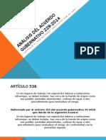 Análisis Del Acuerdo Gubernativo 229-2014