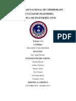 Transito y Transporte Informe 2