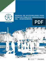 Manual Accesibilidad Para Espacios Públicos Urbanizados 2016