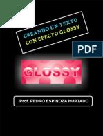 Texto Efecto Glossy