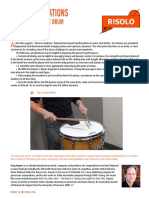 Chrono Variations for Concert Snare Drum by Greg Haynes