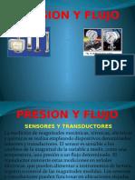 Sensores de Presión y Flujo