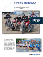 European Motoball in France (Day 1)