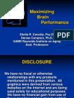 UAMS Cassidy Maximizing Brain Performance