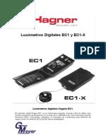 1.-Luxómetro EC1-X