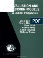 Evaluation and Decision Models - A Critical Perspective (2000).pdf