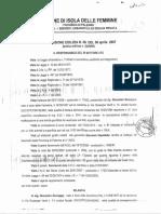 2007 6 APRILE PORTOBELLO SINDACO GIUCASTRO GIUSEPPE CONCESSIONE EDILIZIA N 9 ARCH SANDRO D'ARPA