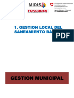 Exposicion Especialista-gestión Local Del Saneamiento Basico
