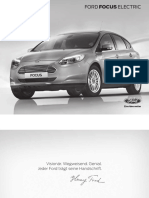 Preisliste Ford Focus Electric