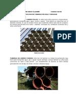 Clasificacion de Tuberias de Agua y Desague