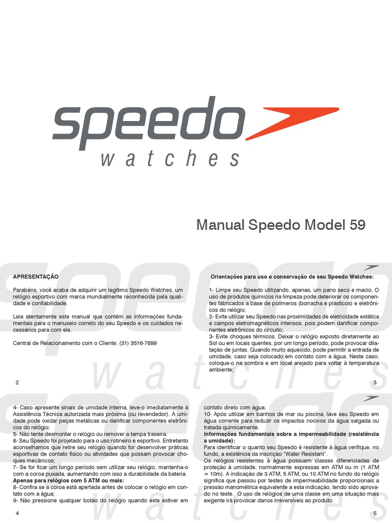 Supermercado zapatilla Eliminación  Monitor Cardiaco Speedo Model 59   Frequência Cardíaca   Frequência