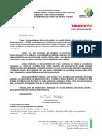 Ofício à SES-DF sobre doenças de pele na Papuda