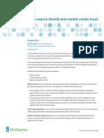 Wp Combating Vendor Fraud