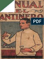 Manual Del Cantinero - John Escalante (1915)