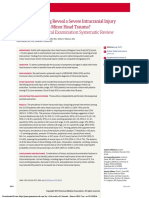 Neuroimaging in Intracranial Injury