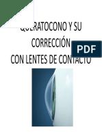 Queratocono y Su Correcion Con Lentes de Contacto.