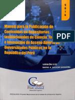 Manual Para La Publicacion en Repositorio