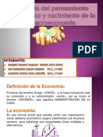 Historia Pensamiento Económico Nacimiento de La Macroeconomía