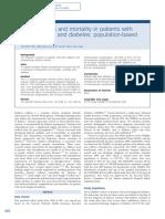 Complicaciones y Mortalidad en Pacientes Con Ezq y Dbt