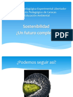 Sostenibilidad - Un Futuro Complejo