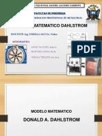 Modelo Matematico Dahlstrom