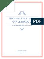 investigacion plan de negocios