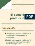 El Costo de Produccion