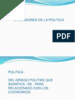 PRESENTACION - POLITICAS DE SALUD
