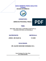 Trabajo Final, Derecho Procesal Penal II. Primo