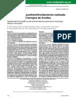 hipotiroidsimo posthemitiroidectomia